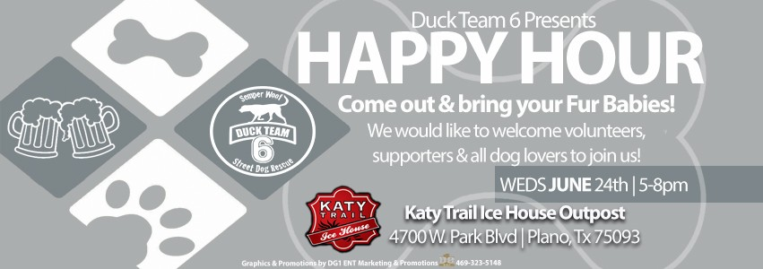 Yappy Hour Katy Trail Ice House Outpost – June 24