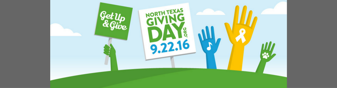 North Texas Giving Day 2016!